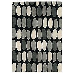 Debenhams - Grey wool 'Sofia' rug