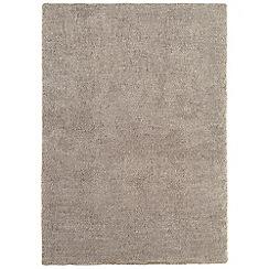 Debenhams - Mink beige 'Tula' rug