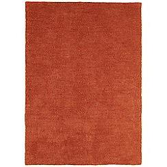 Debenhams - Rust orange 'Tula' rug