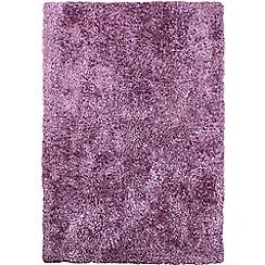 Debenhams - Light purple 'Diva' rug