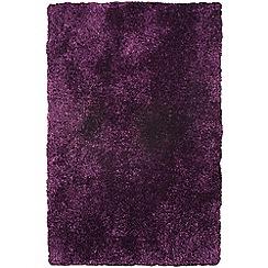Debenhams - Purple 'Diva' rug