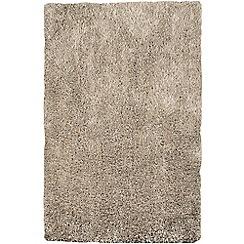 Debenhams - Stone beige 'Diva' rug