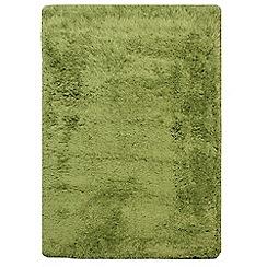 Debenhams - Forest green 'Cascade' rug