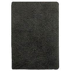Debenhams - Slate grey 'Cascade' rug