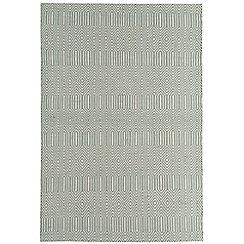 Debenhams - Light blue woollen 'Sloane' rug