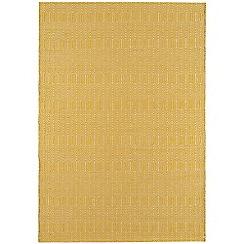 Debenhams - Mustard yellow woollen 'Sloane' rug