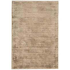 Debenhams - Gold coloured 'Blade' rug