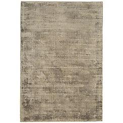 Debenhams - Light brown 'Blade' rug