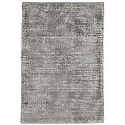 Debenhams - Silver coloured 'Blade' rug