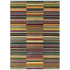 Debenhams - Multi-coloured wool 'Luca' rug