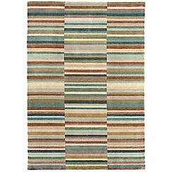 Debenhams - Green wool 'Luca' rug