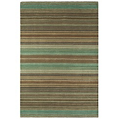 Debenhams - Green wool 'Pimlico' rug