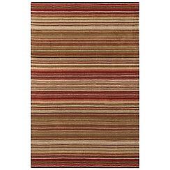 Debenhams - Red wool 'Pimlico' rug