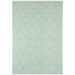 Debenhams - Light blue wool 'Tweed' rug