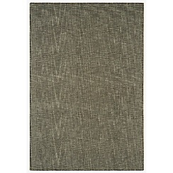 Debenhams Smoke grey wool 'Tweed' rug