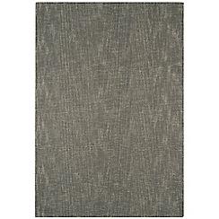 Debenhams - Taupe wool 'Tweed' rug