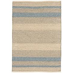 Debenhams - Light blue woollen 'Fields' rug