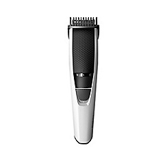 Philips Black 'Series 3000' beard and stubble trimmer - BT3206/13