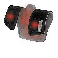 Homedics - Vibrating massage wrap with heat HCM-WRP325H-GB