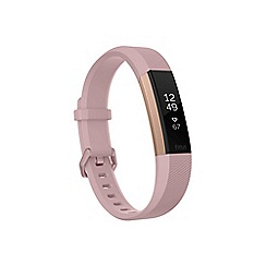 Fitbit - Alta HR large 'Special Edition' tracker FB408RGPKL-EU