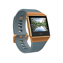 Fitbit - 'Fitbit Ionic' smart watch Slate blue/Orange 182708