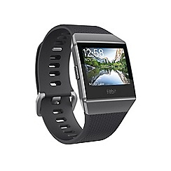 Fitbit - 'Fitbit Ionic' smart watch charcoal/slate grey 182709