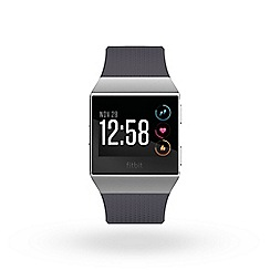 Fitbit - 'Fitbit Ionic' smart watch Blue Grey/White 182710