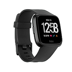 Fitbit - Black 'Versa' fitness smart watch 200476