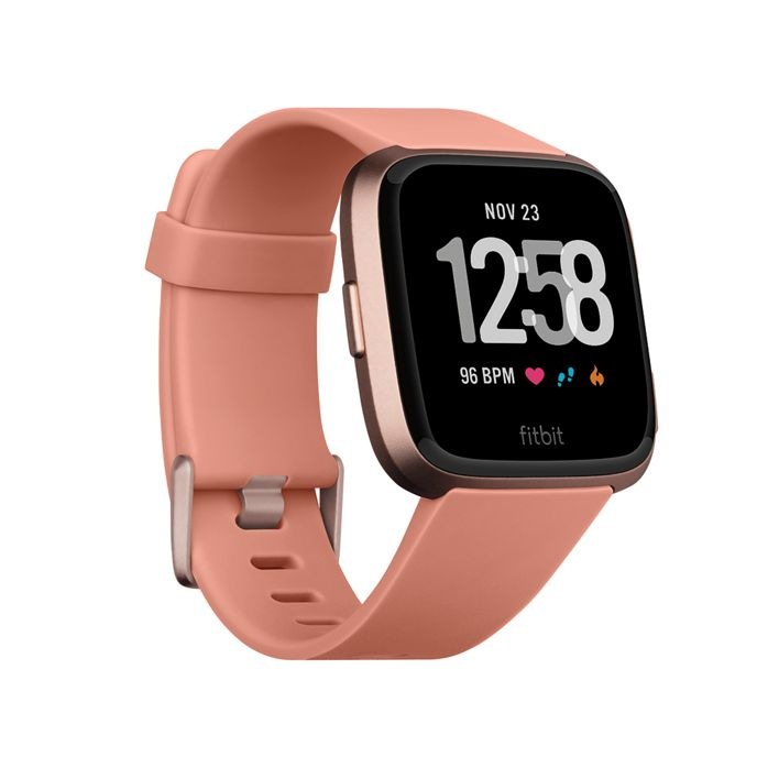 Fitbit - Peach 'Versa' fitness smart watch 200477