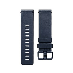 Fitbit - Blue 'Versa' leather band 200485