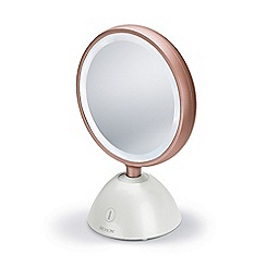 Revlon - White 'Ultimate Glow' LED beauty mirror RVMR9029UKE