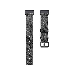 Fitbit - Charcoal Small 'Charge 3' Woven Band 208512