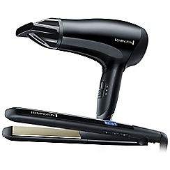 Remington - Black haircare gift pack S5501GP