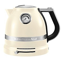 KitchenAid - Cream 'Artisan' kettle 5KEK1522BAC
