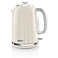Breville - Cream 'Impression' jug kettle VKJ956