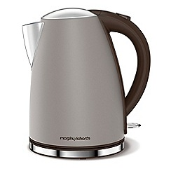 Morphy Richards - Taupe 'Accents' jug kettle 103004