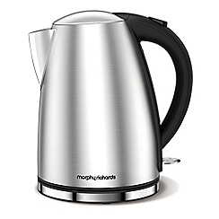 Morphy Richards - Stainless steel 'Accents' jug kettle 103005