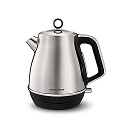 Morphy Richards - Stainless steel 'Evoke' jug kettle 104406