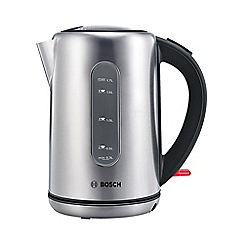 Bosch - Stainless steel 'City' jug kettle TWK7901GB