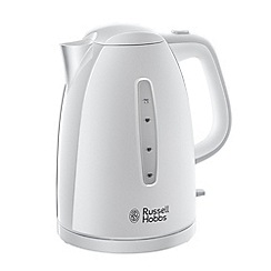Russell Hobbs - White 'Textures' kettle 21270