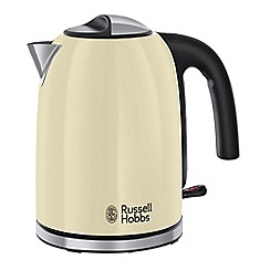 Russell Hobbs - Cream 'Colour Plus' kettle 20412