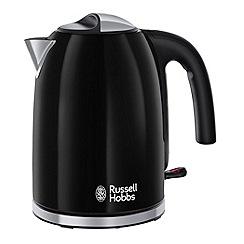 Russell Hobbs - Black 'Colour Plus' kettle 20413