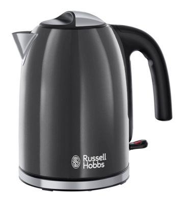 Rus Hobbs Grey Colour Plus Kettle 20414