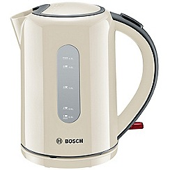 Bosch - Cream 'Village' window jug kettle TWK76075GB