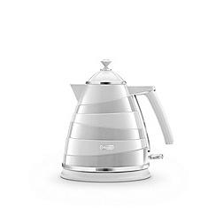 DeLonghi - White 'Avvolta' kettle KBA3001.W