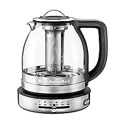 KitchenAid - Artisan 1.5l glass tea kettle 5KEK1322SS