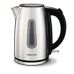 Morphy Richards - Stainless steel 'Equip' jug kettle 102773