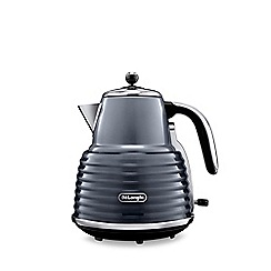 DeLonghi - Grey gloss finish 'Scultura' kettle KBZ3001.GY