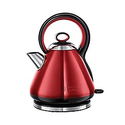 Russell Hobbs - Red 'Legacy' quiet boil kettle 21885