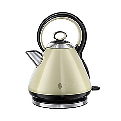 Russell Hobbs - Cream 'Legacy' quiet boil kettle 21888